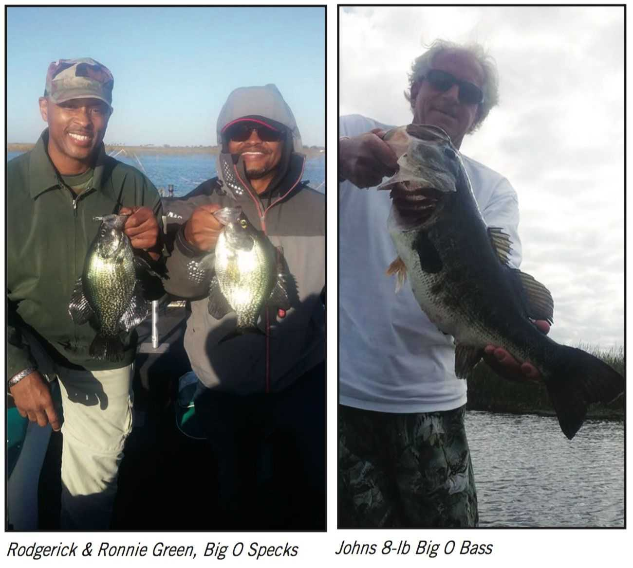 Lake okeechobee north end fishing report april 2016 for Lake okeechobee fishing