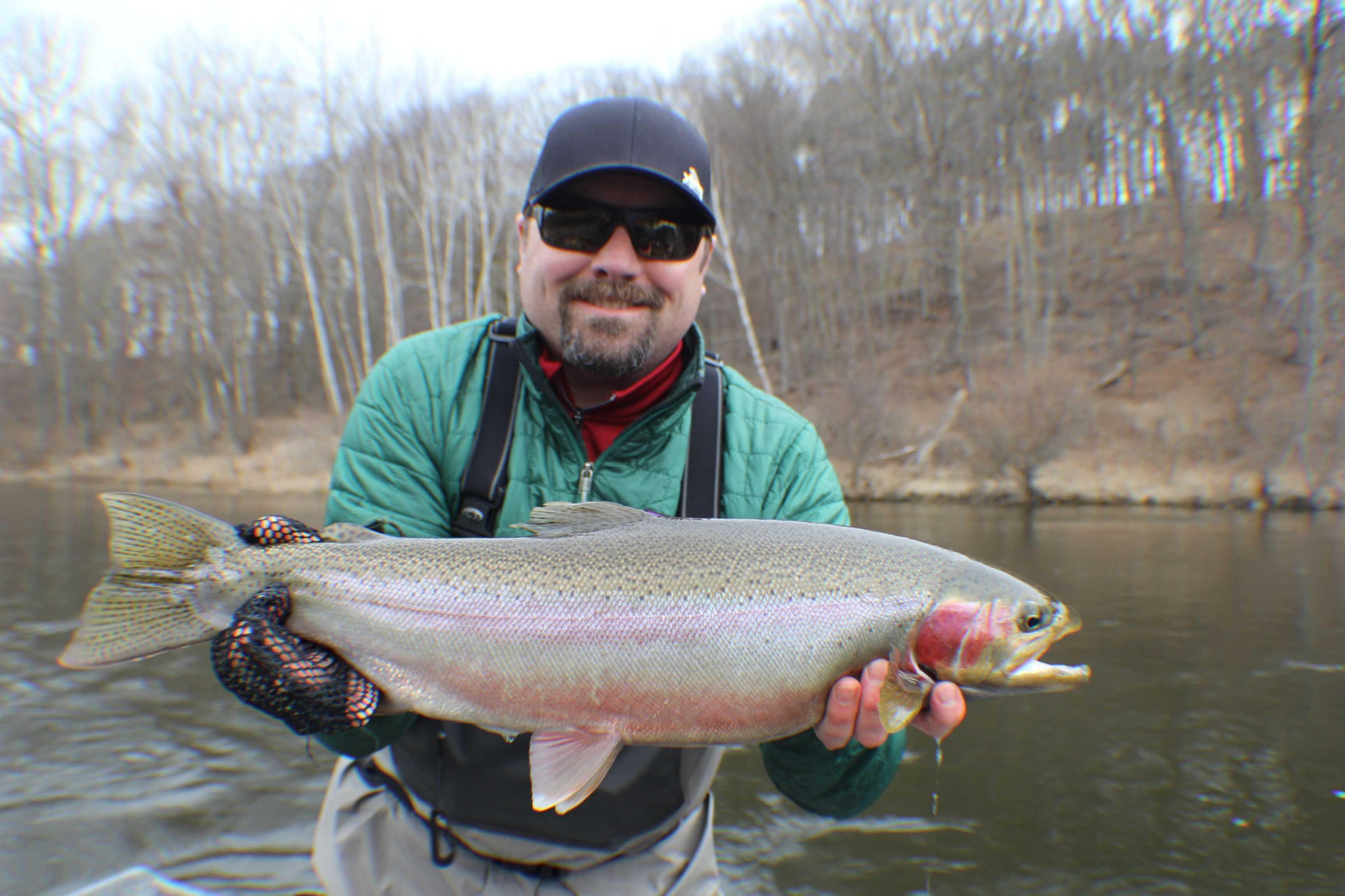 Muskegon river fishing report april 2016 coastal angler for Muskegon lake fishing report