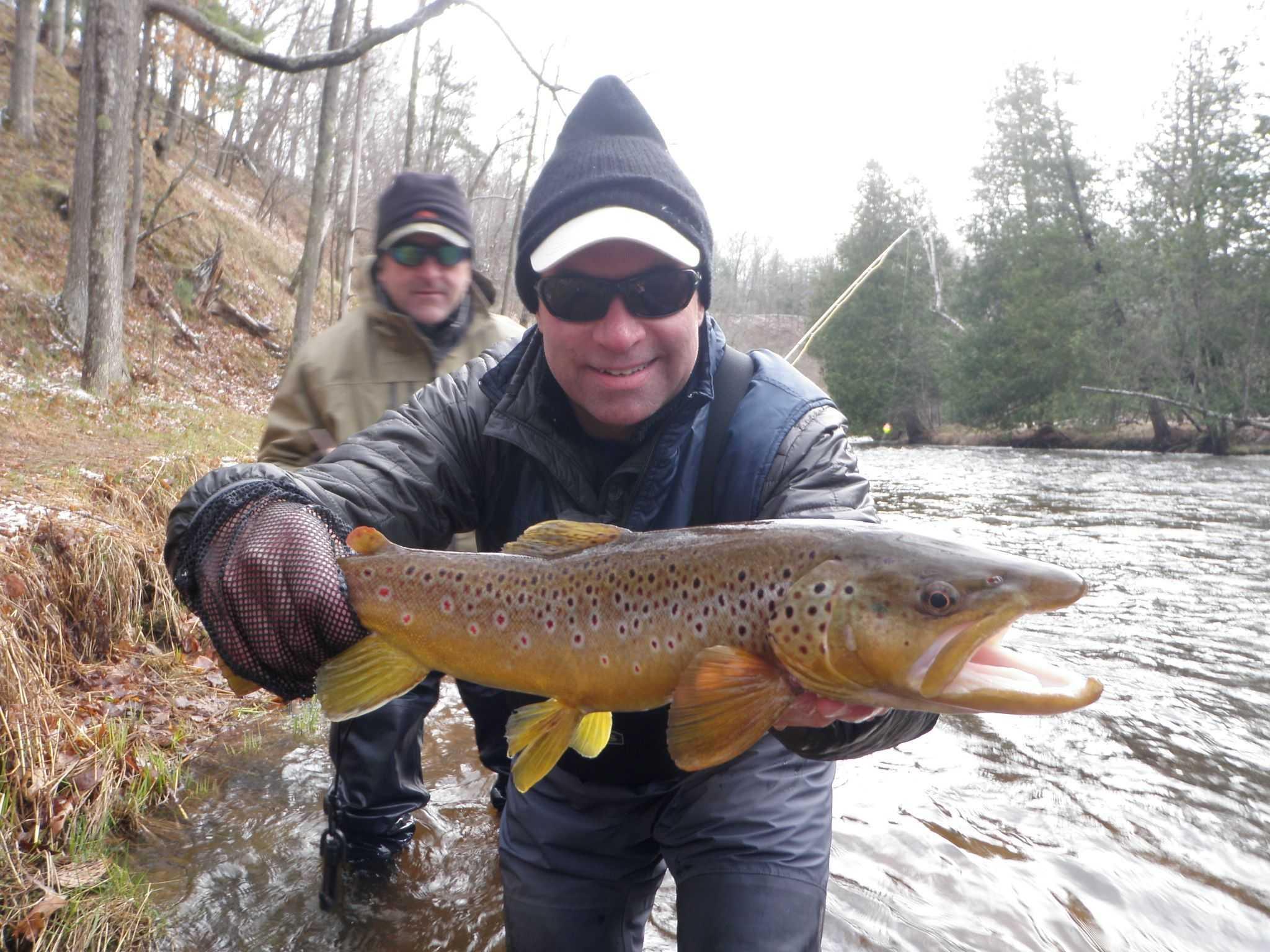 Pere Marquette River Fishing Report April 2016 Coastal