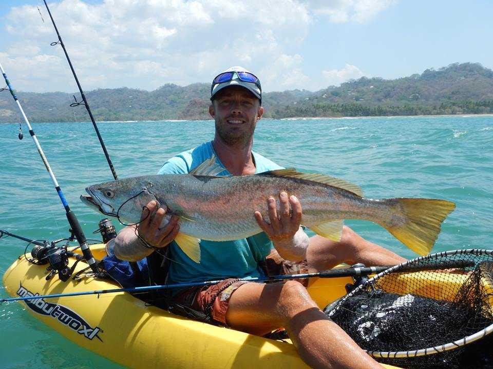 Costa Rica Kayak Fishing