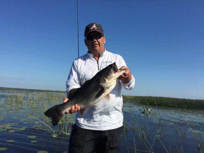 Weekly okeechobee fishing report may 6 8 coastal for Lake okeechobee fish camps