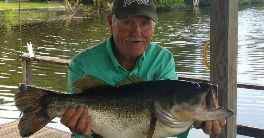 Ray Anderson, 9.56 lbs, Lake Weohyakapka