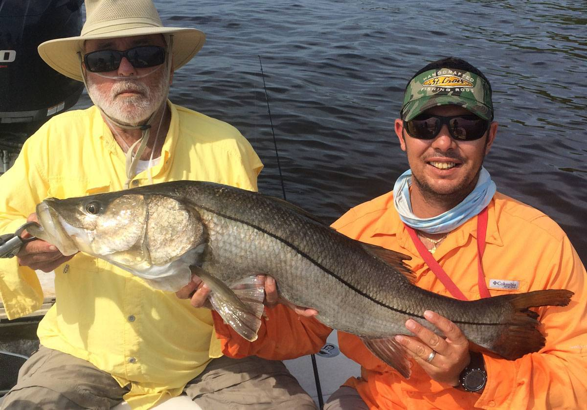 Peace river port charlotte fishing report june 2016 for Captain dave s fishing