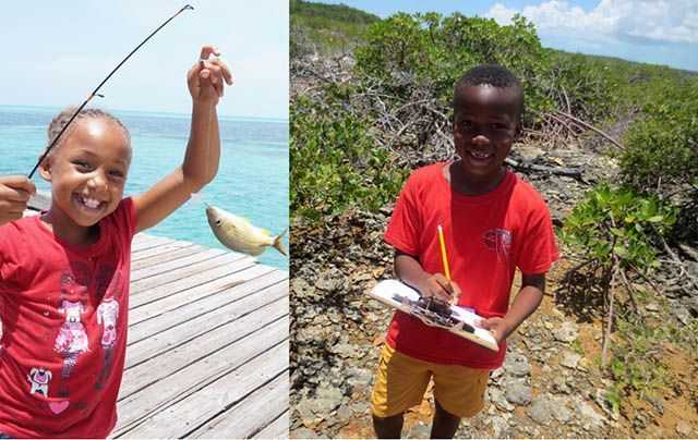 FRIENDS' summer camps provide hands on outdoor experiences and are truly making a difference in the lives of young Bahamians! PHOTO CREDIT: Friends of the Environment.