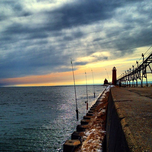 Grand haven fishing report may 2016 coastal angler for Grand haven fishing report