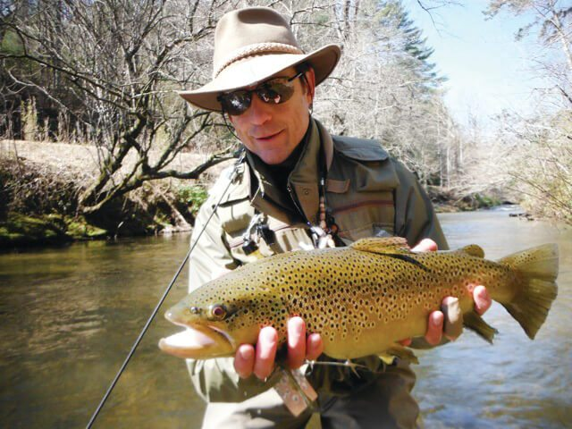Fly fishing north georgia coastal angler magazine for Fly fishing north georgia