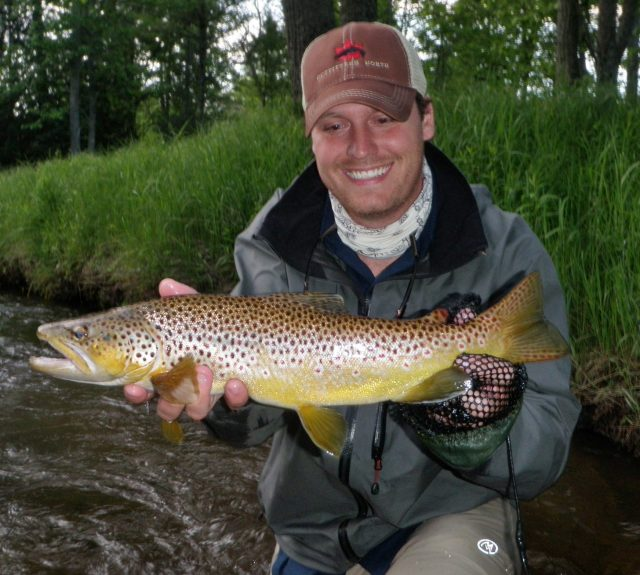 Pere marquette river fishing report june 2016 coastal for Pere marquette river fishing report