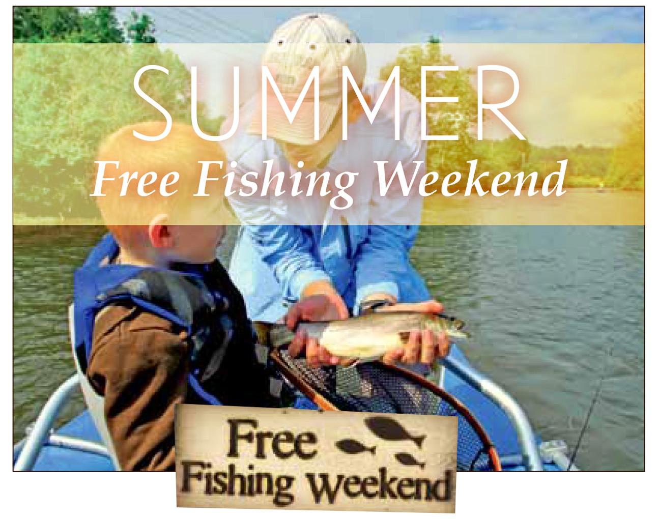 Free fishing weekend west michigan coastal angler for Free fishing license ny