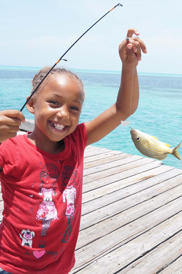 Every summer, FRIENDS partners with the International Game Fish Association (IGFA) to educate young Bahamians on sustainable fishing practices. PHOTO CREDIT: Friends of the Environment.