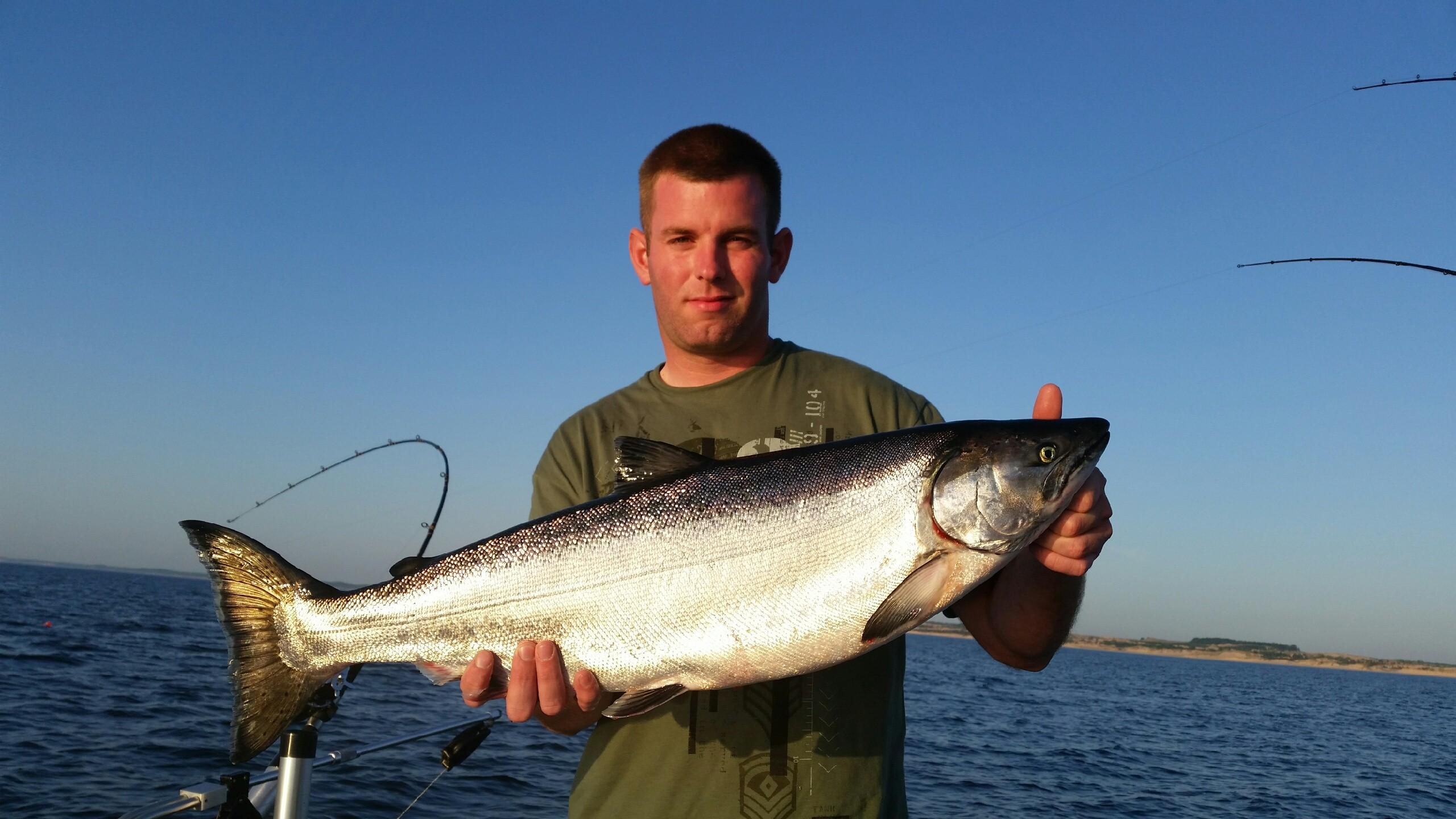 Ludington fishing report july 2016 coastal angler the for Southwest michigan fishing report