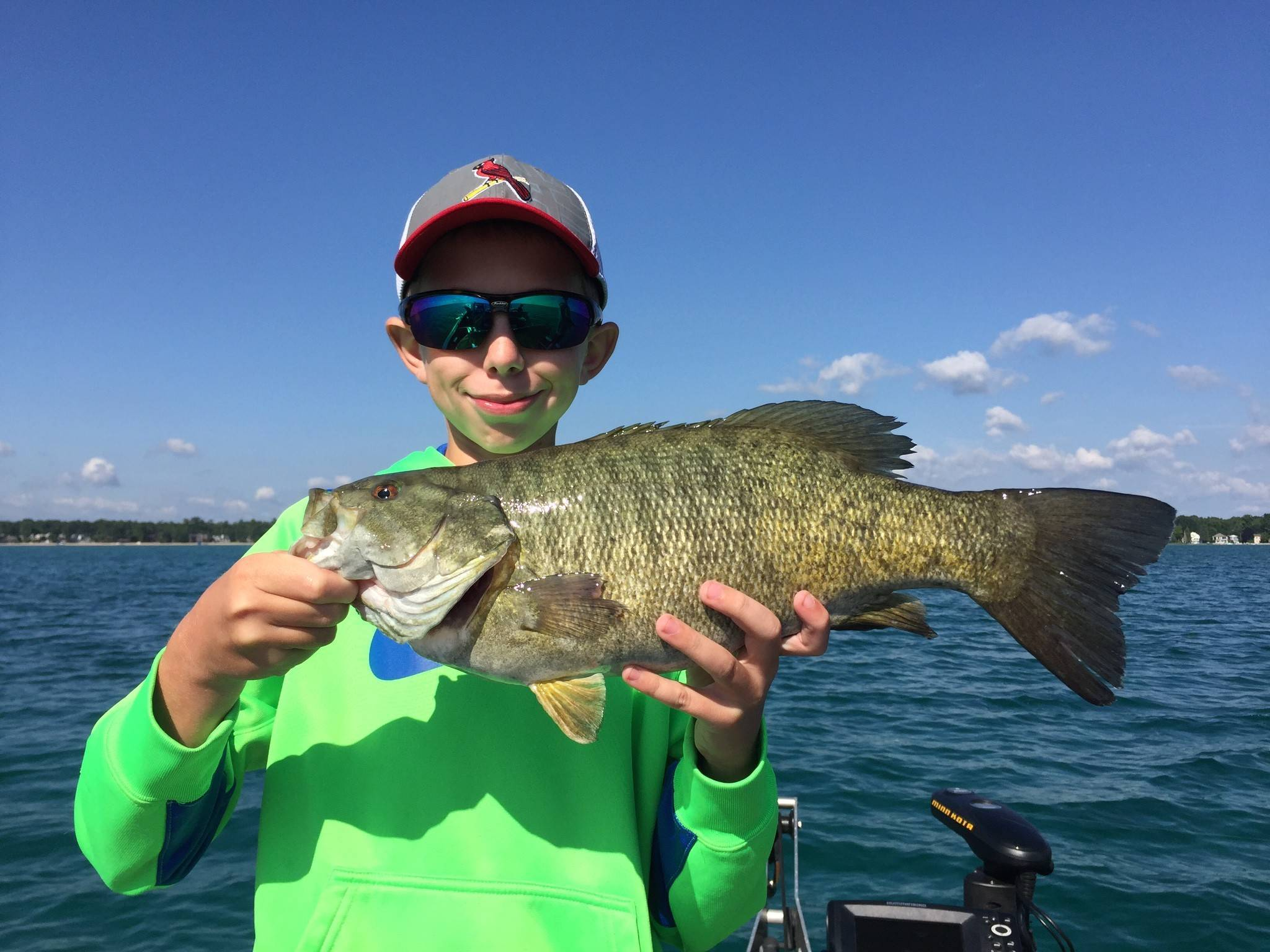 Grand traverse bay fishing report for Grand haven fishing report