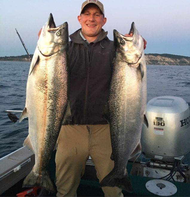 Northwest area fishing report for Grand haven fishing report
