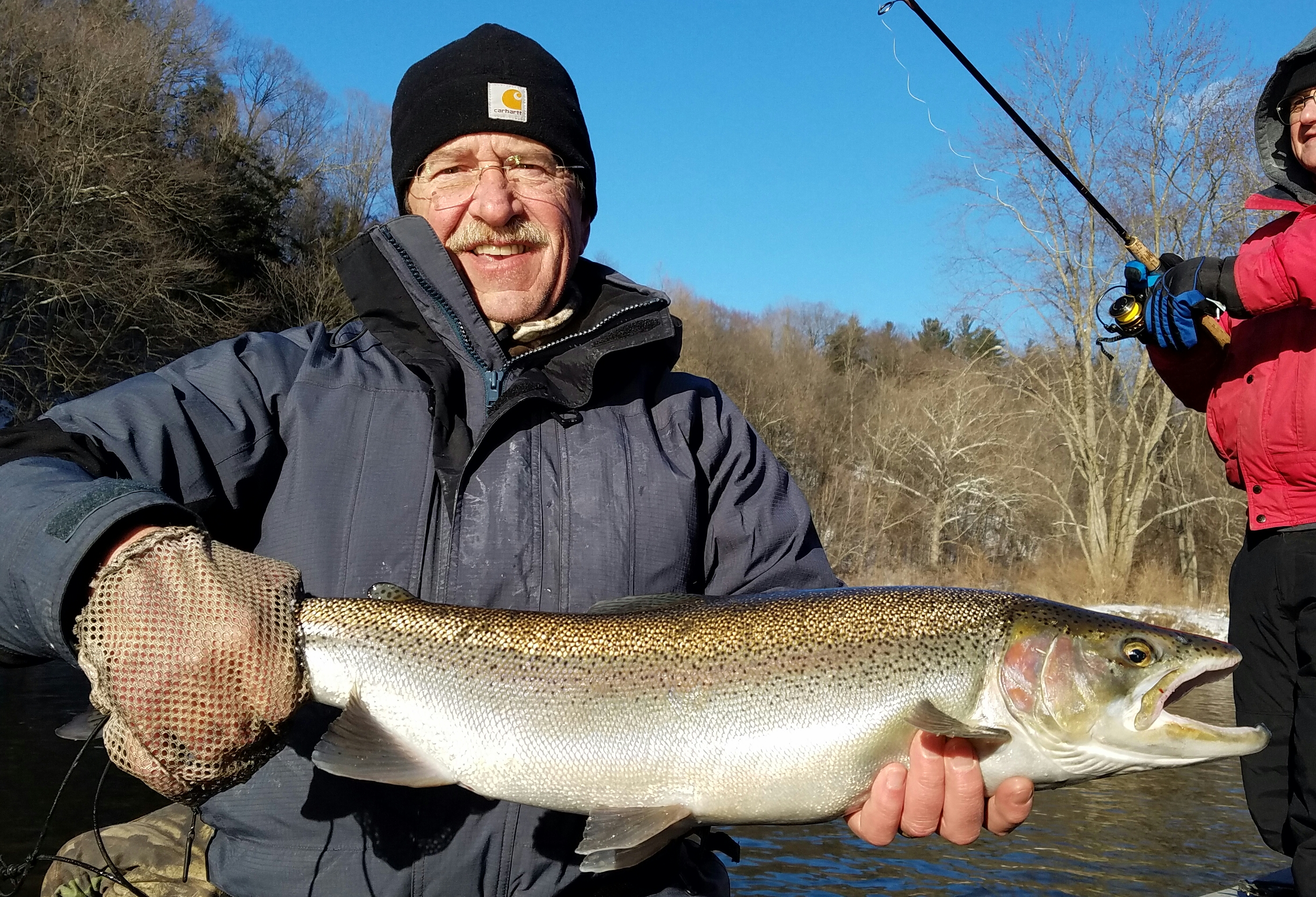 Grand river fishing report march 2017 coastal angler for Grand river fishing