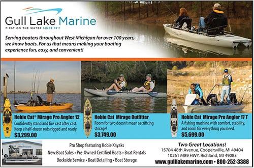 West michigan edition fishing reports big lake inland for Free fishing magazines