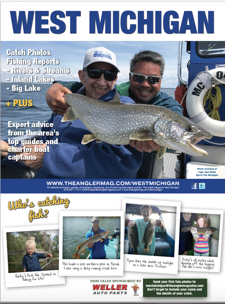 west michigan fishing report