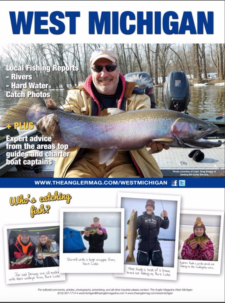 west michigan edition fishing reports big lake inland