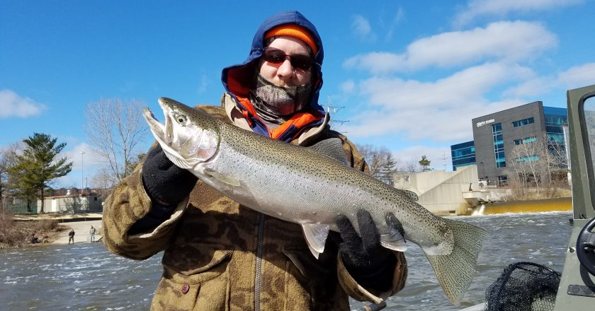Grand river fishing report archives coastal angler the for West michigan fishing report