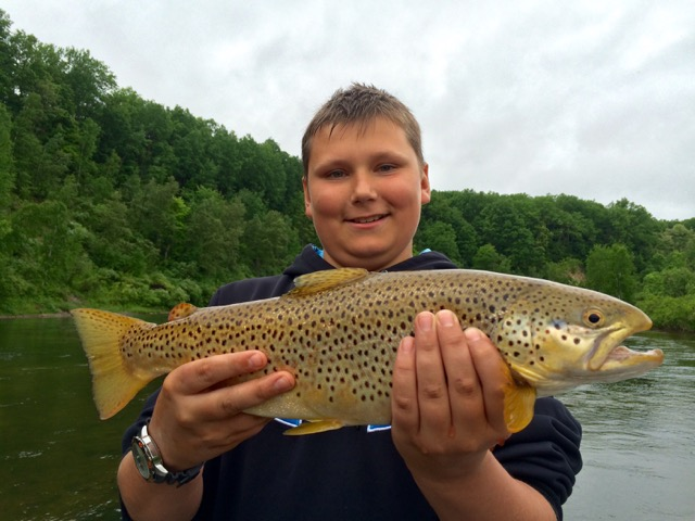 Manistee River Fishing Report: August 2016 | Coastal Angler