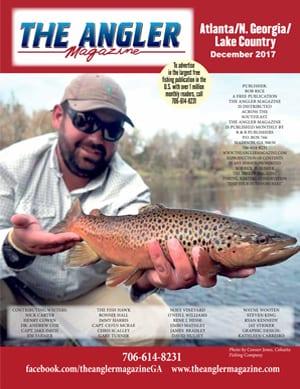 Angler Magazine December cover