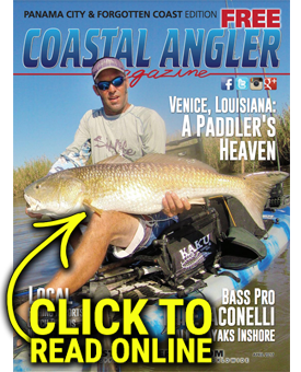 Coastal Angler Magazine - Panama City - April 2017