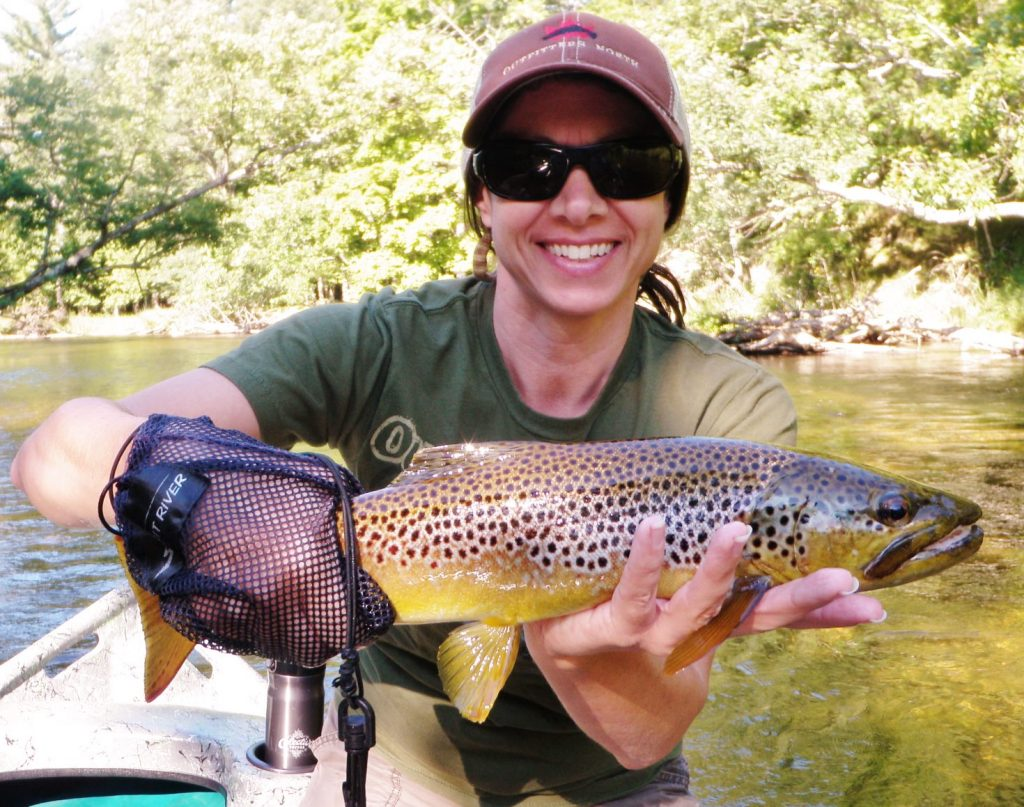 Pere marquette river fishing report september 2016 for Pere marquette river fishing report