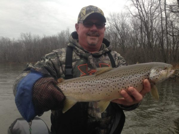 Lower pere marquette fishing report october 2016 for West michigan fishing report