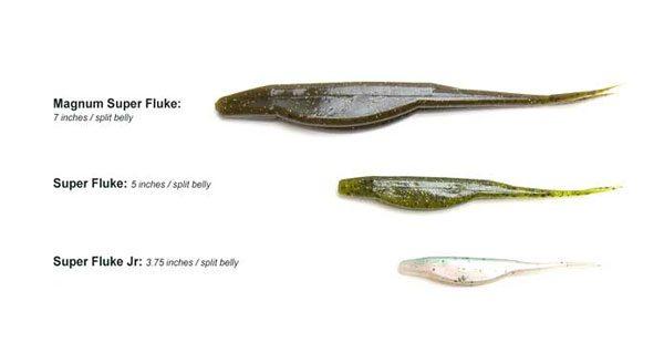 Zoom Fluke Bass Fishing Lure