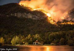 Party Rock Fire, North Carolina