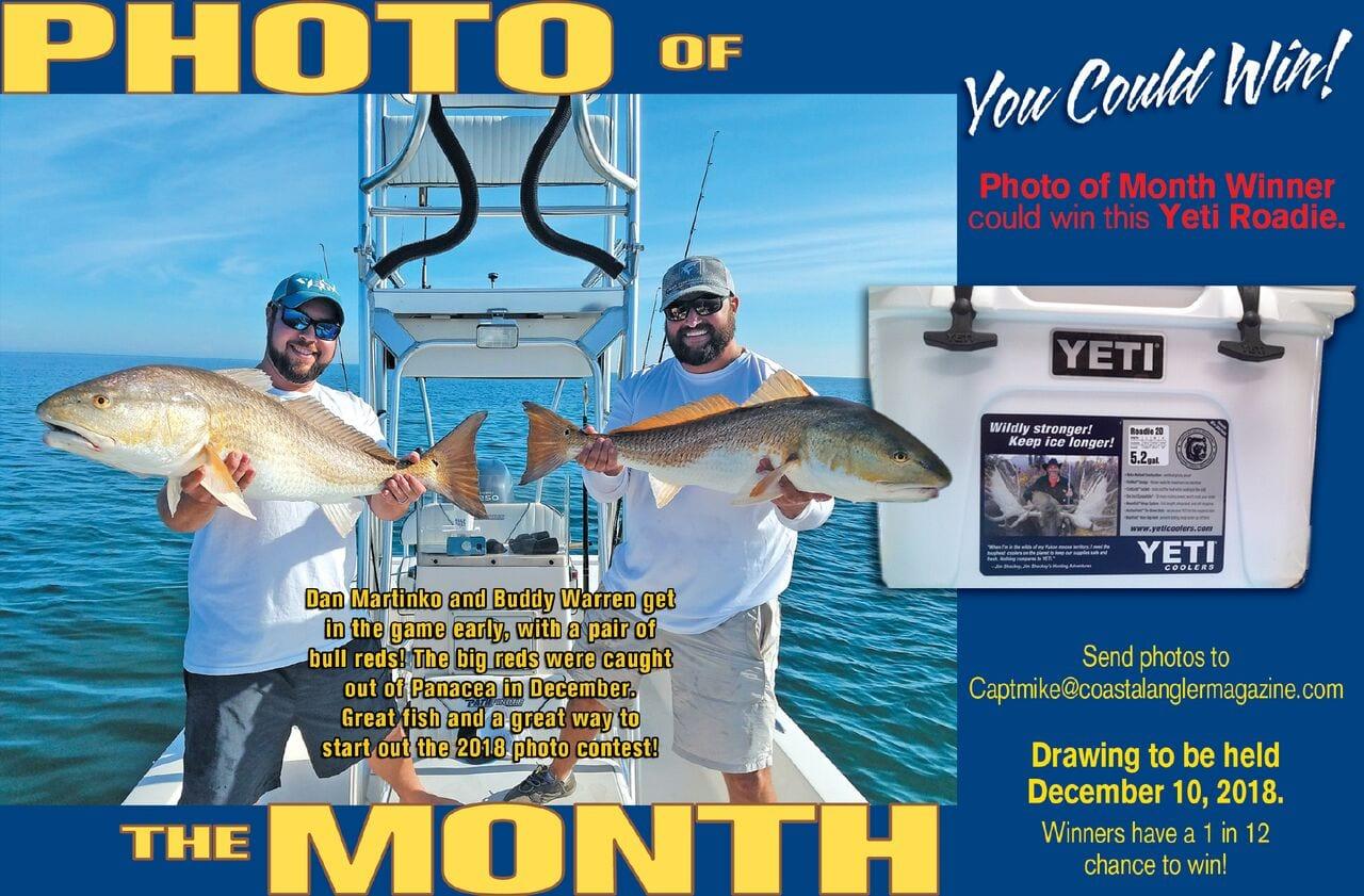 January coastal angler the angler magazine for Free fishing magazines