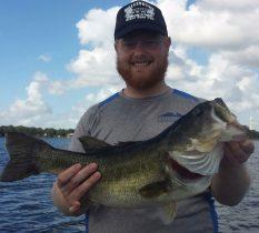 William Lewis Jr, 8.0 lbs, Lake Huntley