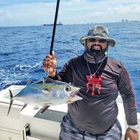 Tarang Patel caught this blackfin tuna while fishing with Capt. Will Howard.
