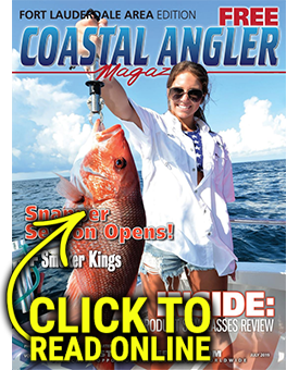 Coastal Angler Ft. Lauderdale - July 2019