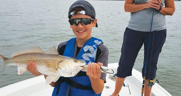 Craig Lambert Galveston Bay fishing