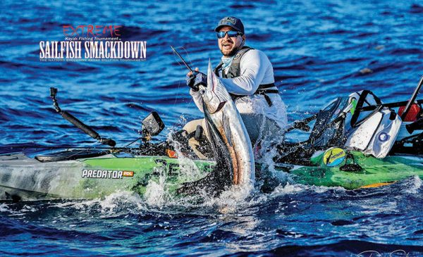 Robwil Valderrey won the Sailfish Smackdown with his early catch and release.