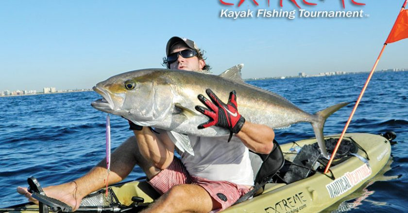Joe Hector slayed this reef donkey with a vertical jig over a deep wreck.