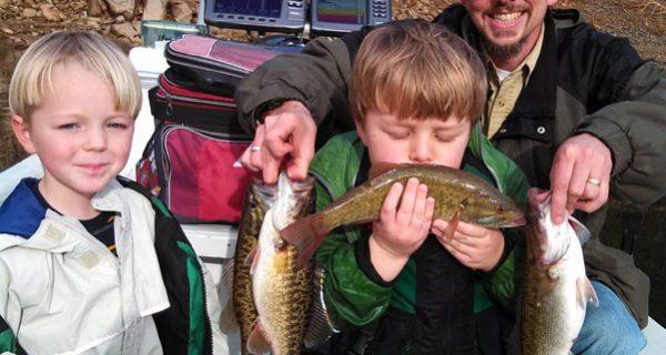 Lake Fontana winter fishing