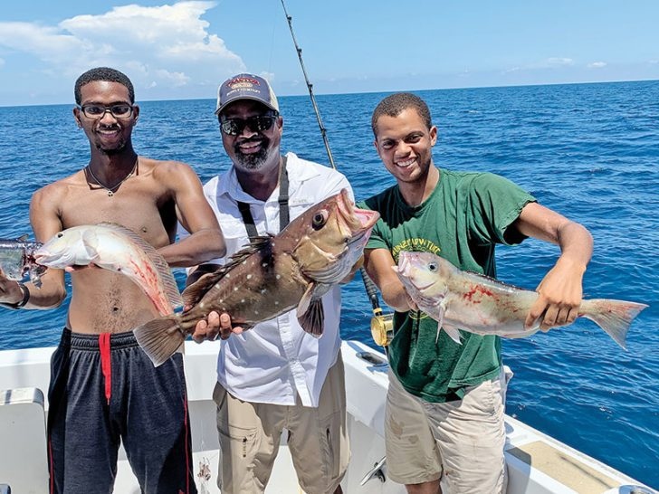 September is a great time to deep drop with Fishing Headquarters.