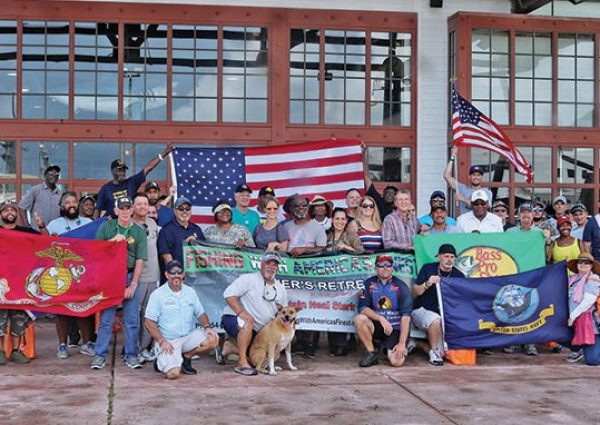 Fishing With America's Finest at Bass Pro Shops in Dania Beach.