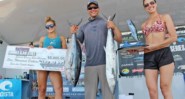 Justin Ritchie won the EKFT Summer Slam Part 1 with 41.8 pounds.