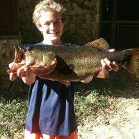 James Pitchard, bass 8-5lbs, Lake Josephine