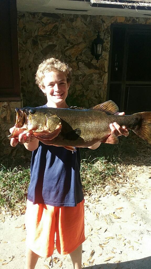 James pitchard bass lake josephine coastal for Franks great outdoors fishing report