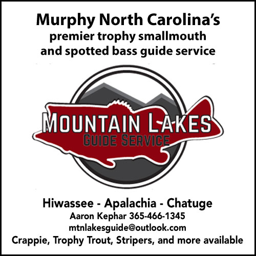 Mountain Lakes Guide Service, Murphy NC