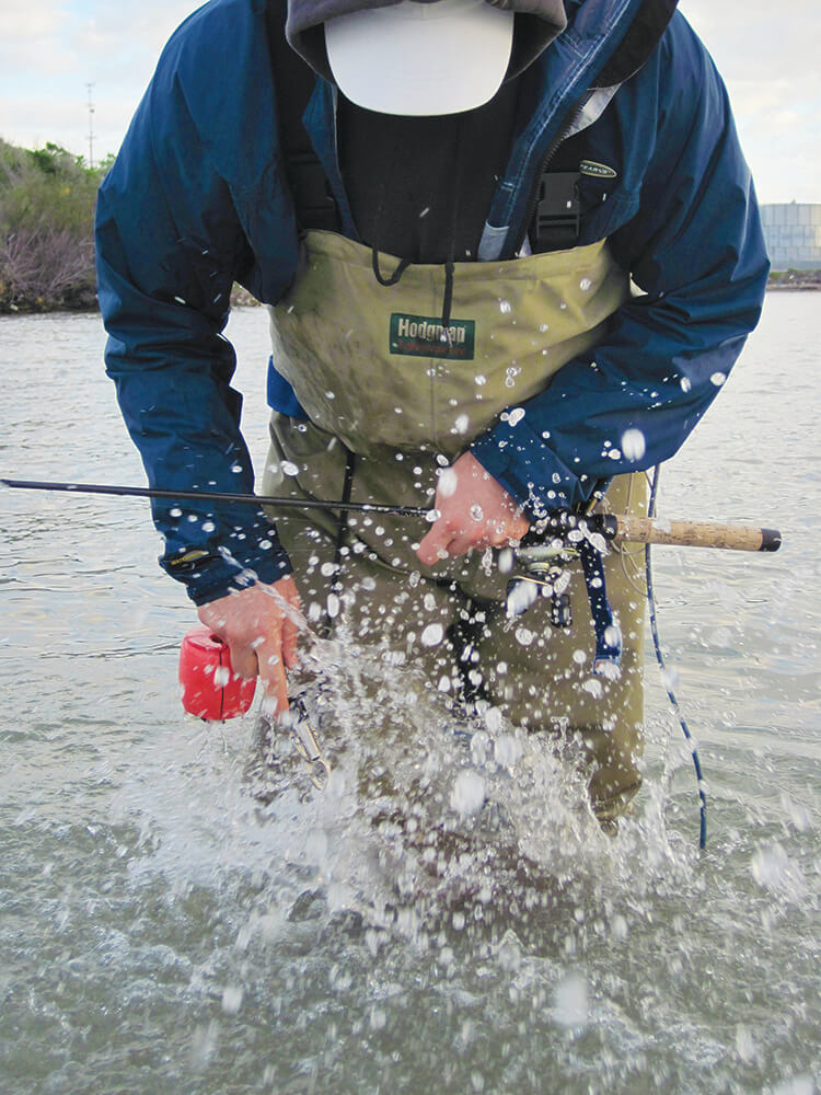 Winter wading gear check coastal angler the angler for Winter fishing gear