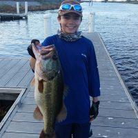Robert DiNino, Bass, 6.125-lbs, Lake Okeechobee