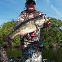 Terry, 9.5 lb Bass Tenoroc FMA