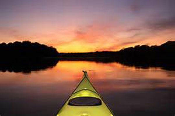 kayak-101-sunset