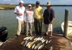Trinity Bay fishing report