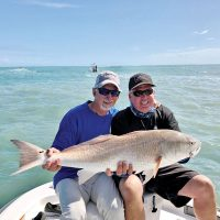 Big red for Dave fishing with Capt. Glyn Austin of Going Coastal Charters.