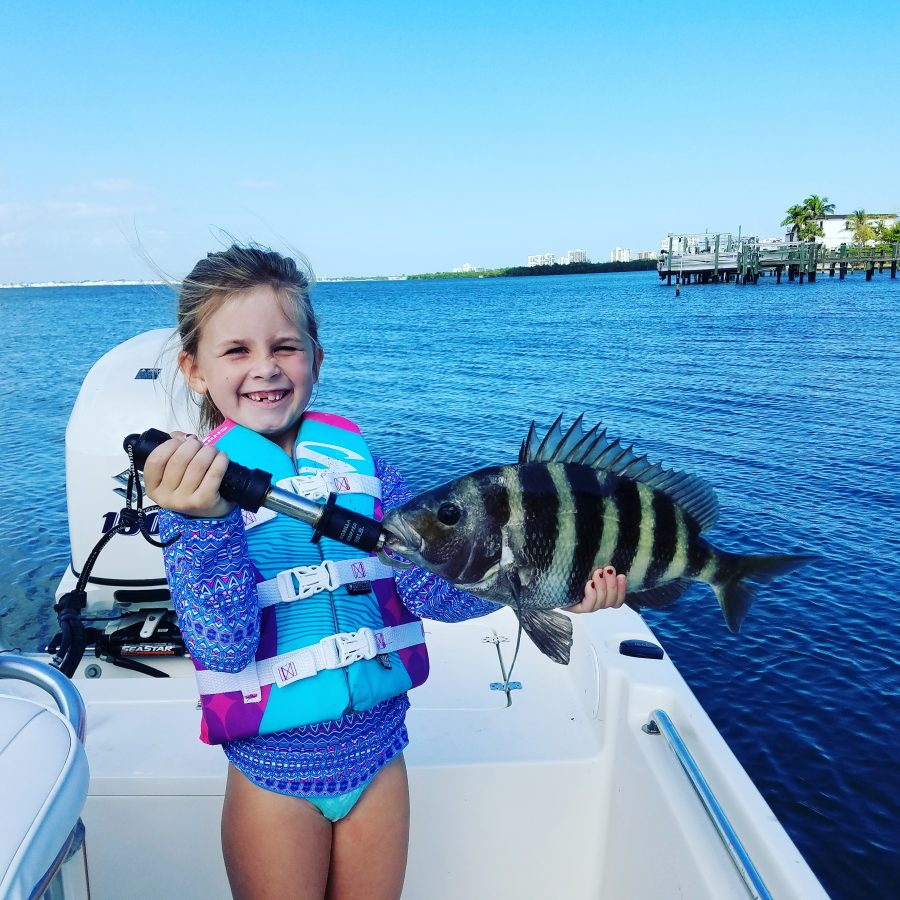 New year 39 s day sheepshead coastal angler the angler for Snook nook fishing report