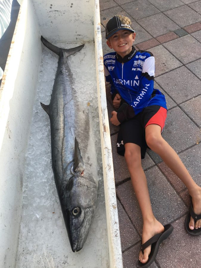 62.33 Lb. Kingfish caught by Team Tuppens fishing the SKA National Championship | Photo courtesy of Team Tuppens